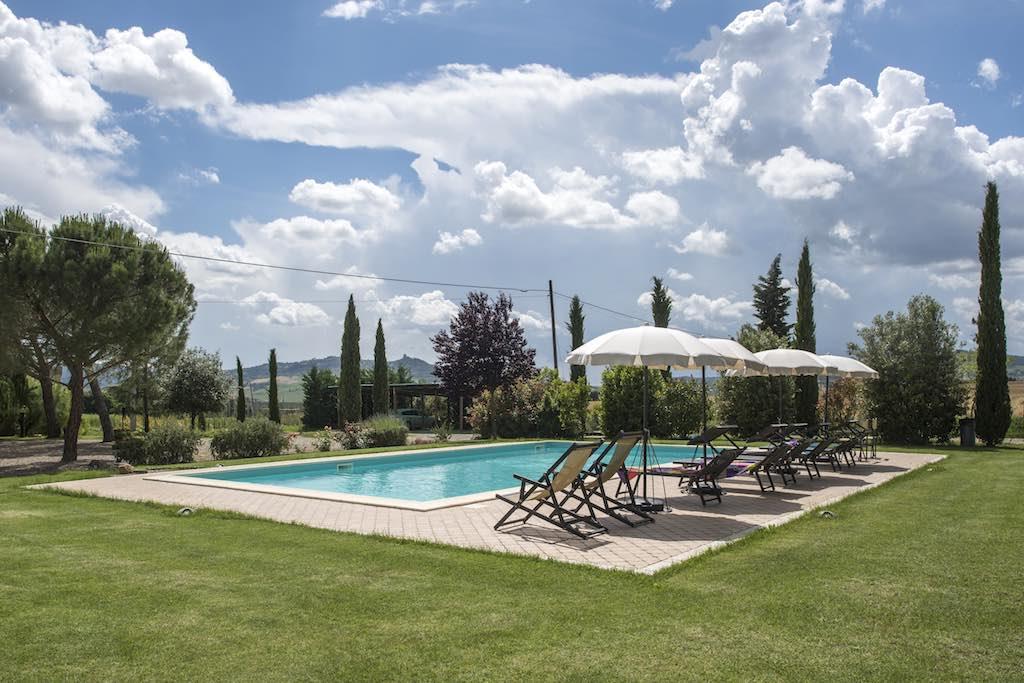 Ferienhaus Pienza 8 Pers. - privater Pool