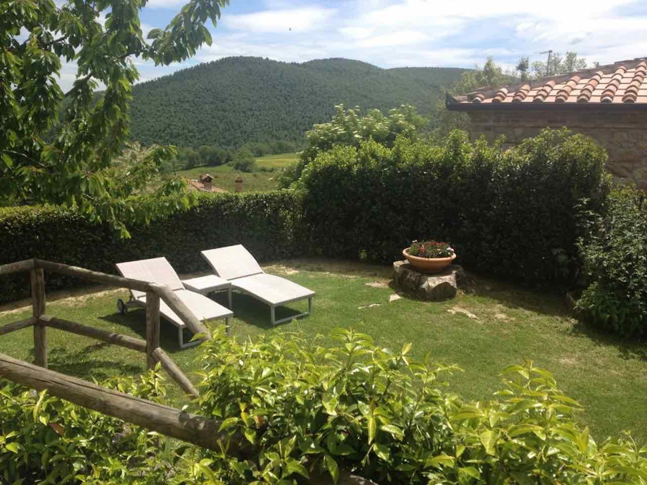 Ferienwohnung Montepulciano Michelangelo für 4 Personen mit Pool