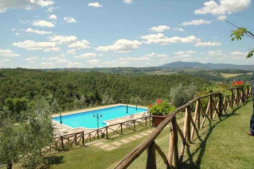 Ferienwohnung Olivo bis 7 Per mit Pool