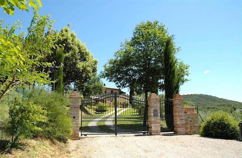 Villa Montepulciano mit 6 Wohnungen - Pool