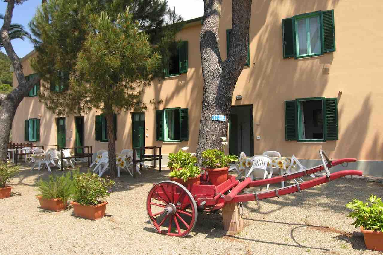 Ferienwohnungen im toskanischen Landhaus nur 300 m vom Meer