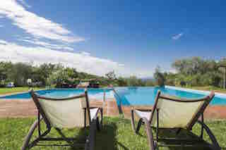 Ferienwohnung Montaione Rimessa bis 4 Pers. mit Pool