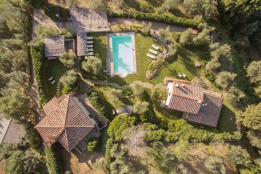 Toskana Anwesen mit privatem Pool bis 16 Personen