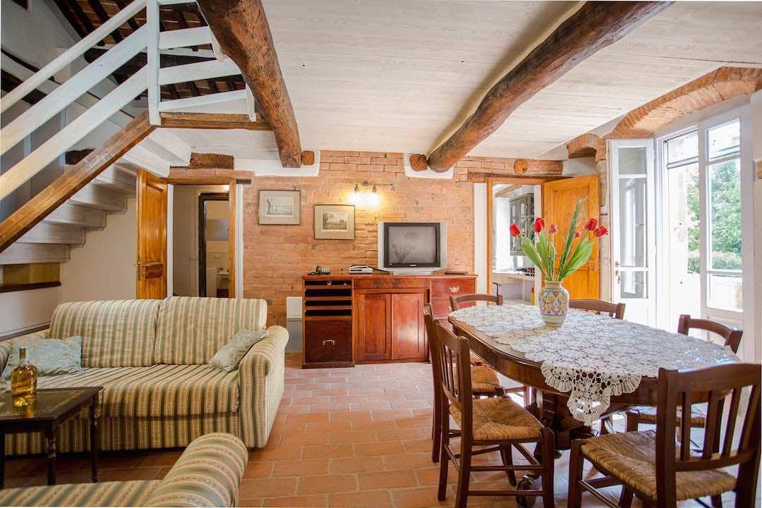 La Casa Rosa 2 - Borgo Gaggioleto bis 6 Pers. mit Pool