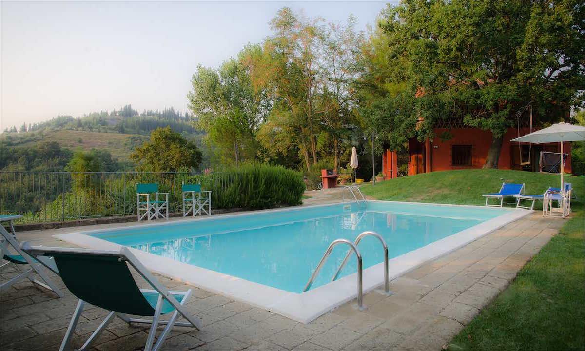 Ferienhaus bei Florenz mieten privater Pool 6 Personen