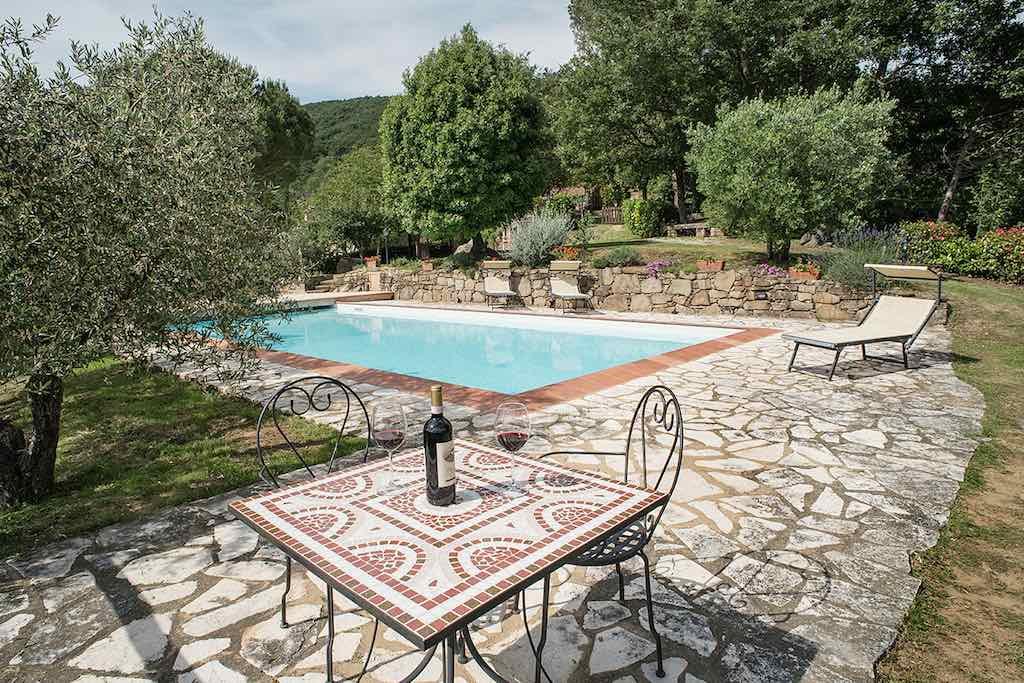 Ferienhaus Cortona mieten mit privatem Pool