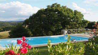 FERIENWOHNUNG ASCIANO Pergola  bis 4 Personen mit Pool