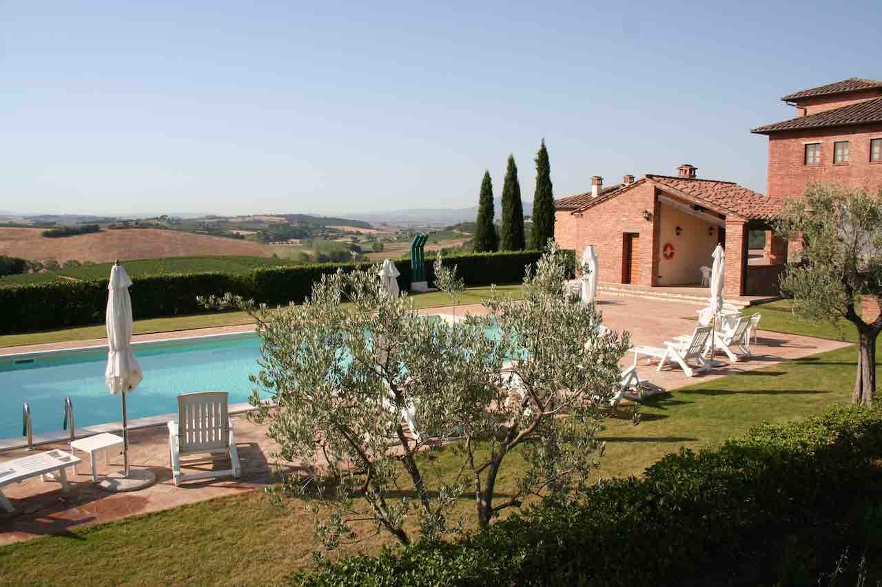 Weingut Montepulciano bis 5 Pers. - Pool