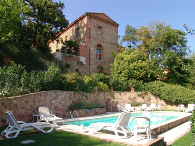 Ferienwohnung Gli Archi für 2+2 Personen am Rande des historischen Kerns von Sinalunga
