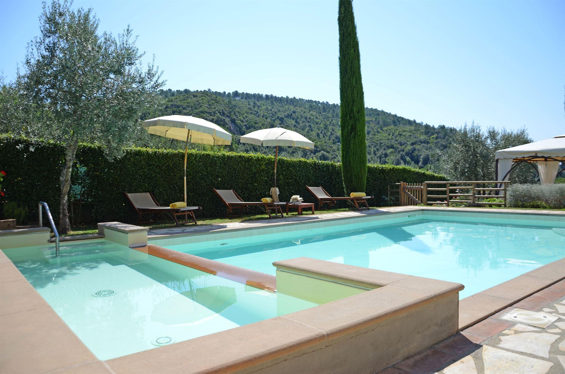 Ferienhaus Montaione für 8 Personen - privater Pool