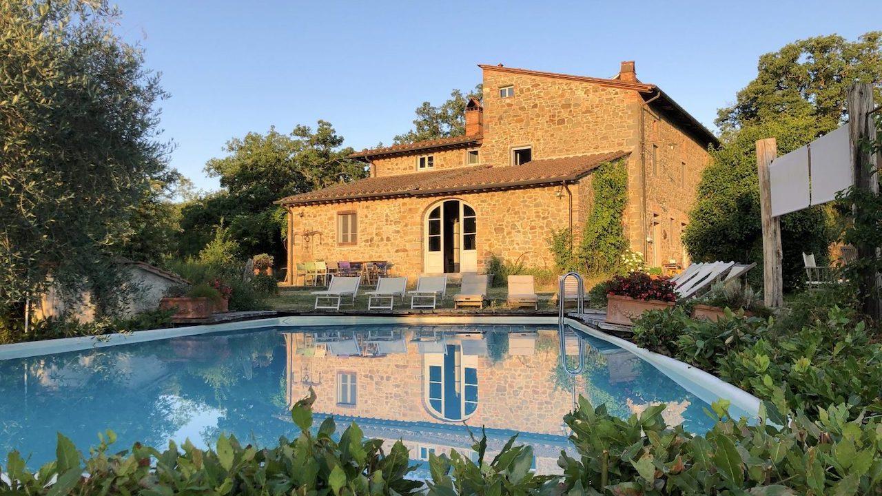 Toscana Villa mit privatem Pool bis 16 Personen