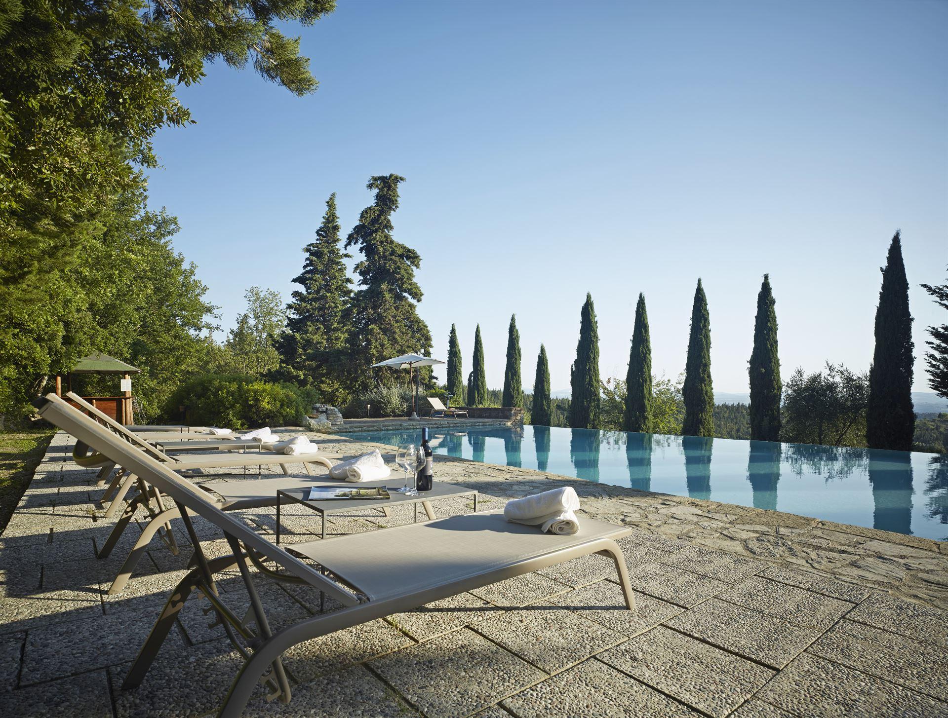 Ferienhaus Chianti Villa mit privatem Pool