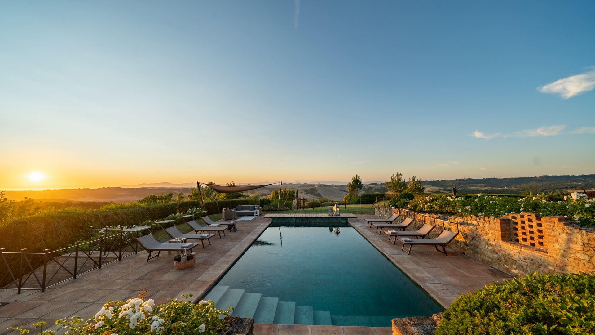 Toskana Finca mit privatem Pool bei Toskana Exklusiv